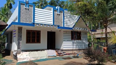 Photo of 800 Square Feet 2 Bedroom Single Floor Modern Beautiful House and Plan