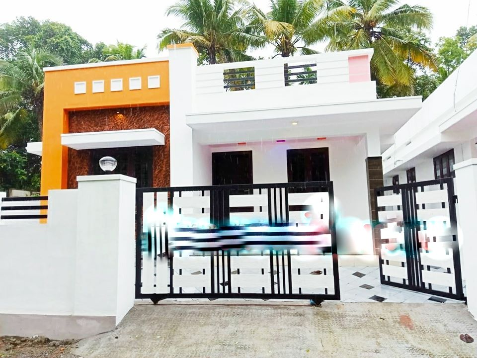 882 Square Feet 3 Bedroom Single Floor Modern Amazing House and Plan