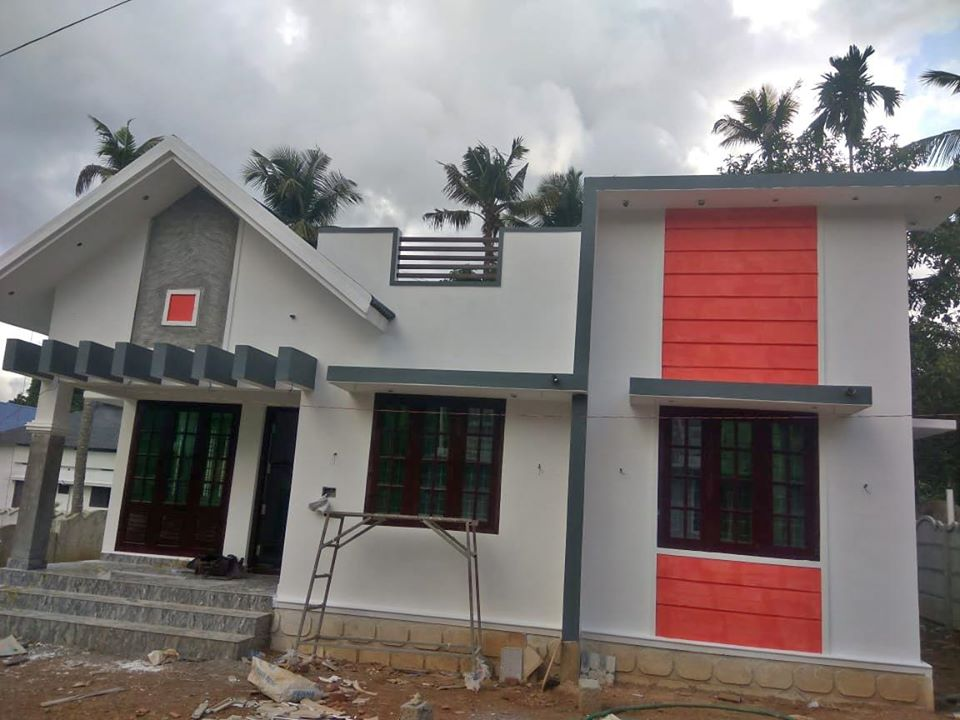 900 Square Feet 2 Bedroom Modern and Beautiful Single Floor House and Plan