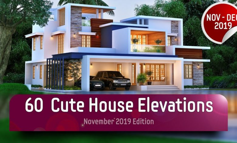 Beautiful 60 Cute Modern Contemporary Home Elevations