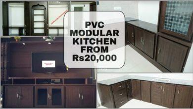 Photo of Latest and Modern PVC Modular Kitchen Designs Work