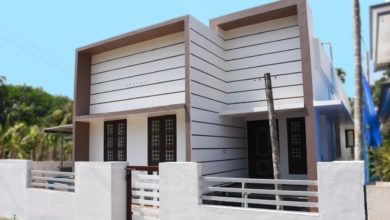 Photo of 1000 Square Feet 3 Bedroom Box Style Single Floor House and Interior