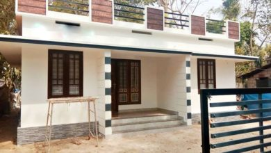 Photo of 1026 Square Feet 3 Bedroom Single Floor Low Budget House and Plan