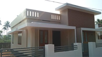 Photo of 1080 Sq Ft 2BHK Contemporary Style Single Floor House at 4 Cent Land