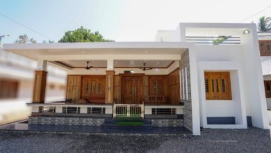 Photo of 1200 Square Feet 3 Bedroom Modern Low Budget Single Floor House