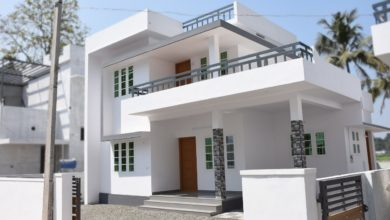 Photo of 1200 Square Feet 3 Bedroom Modern Two Floor Beautiful House at 4 Cent Land