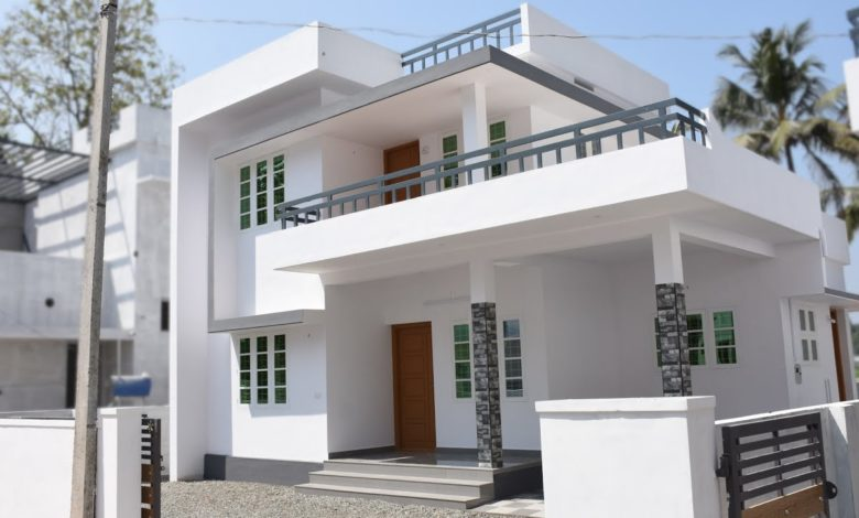 1200 Square Feet 3 Bedroom Modern Two Floor Beautiful House at 4 Cent Land