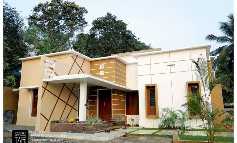 1300 Square Feet 2BHK Single Floor Modern Amazing House and Plan