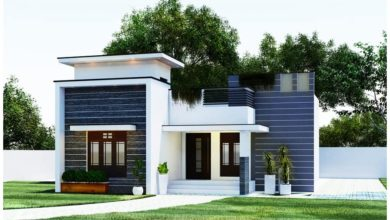 Photo of 1323 Square Feet 3 Bedroom Single Floor Modern Beautiful House and Plan