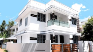 Photo of 1350 Sq Ft 3BHK Simple and Elegant Two Floor House at 3.5 Cent Plot