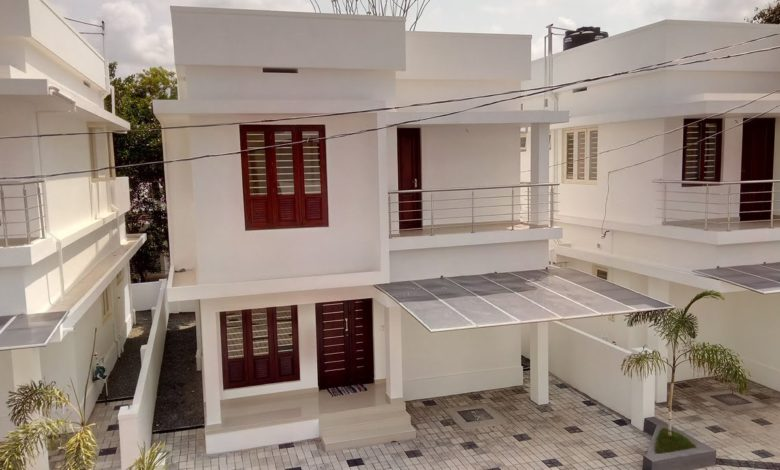 1350 Sq Ft 3BHK Two Floor Modern Beautiful House and Interior