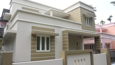 Photo of 1450 Sq Ft 3BHK Modern Two Floor Box Type House at 5 Cent Land