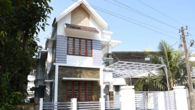 Photo of 1530 Sq Ft 3BHK Modern Beautiful House at 4 Cent Land