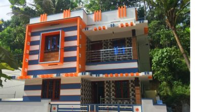 Photo of 1800 Square Feet 3BHK Double Floor Modern House at 4 Cent Land