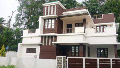 Photo of 1850 Square Feet 4BHK New Modern Two Floor House at 5.5 Cent Land
