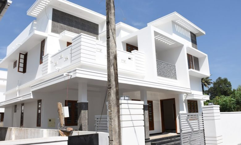 2200 Square Feet 4 Bedroom Modern Beautiful Two Floor House and Interior