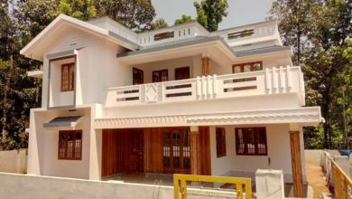 Photo of 2200 Square Feet 4BHK Beautiful Double Floor House at 7 Cent Land