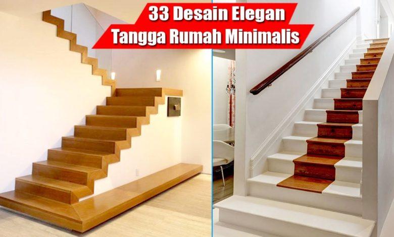 33 Latest Modern Minimalist Stair Design Models