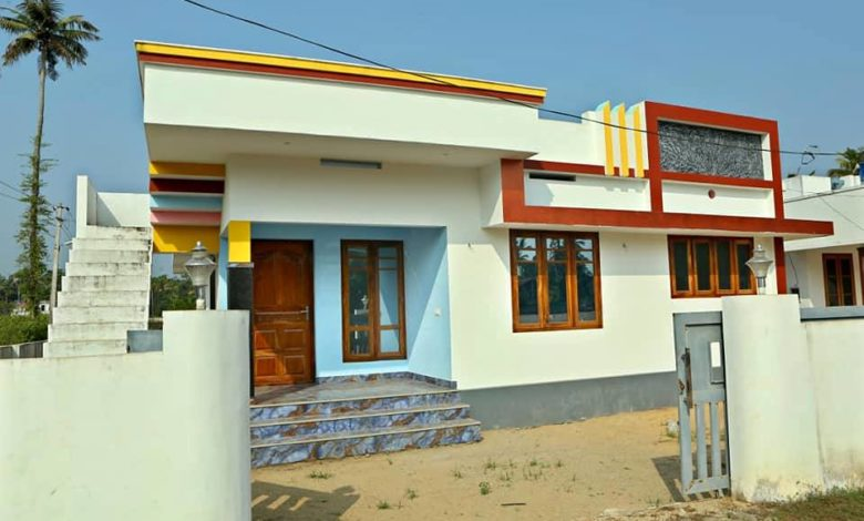 800 Square Feet 2 Bedroom Single Floor Low Budget House and Plan