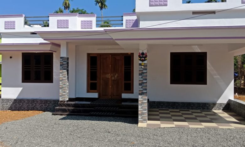 860 Square Feet 2 Bedroom Single Floor Kerala Style House And Plan Home Pictures