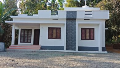 Photo of 900 Square Feet 2 Bedroom Modern Beautiful Single Floor House and Plan