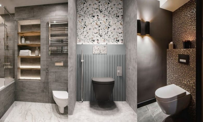 Amazing and Beautiful Bathroom Floor and Wall Tile Designs Ideas