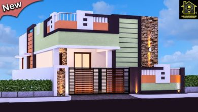 Photo of Best 30 Small and Single Floor Modern beautiful House Front Elevation Designs