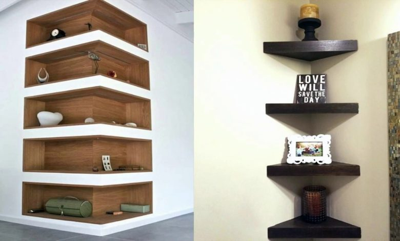 Modern And Beautiful Wall Mount Corner Shelves Designs Ideas Home Pictures