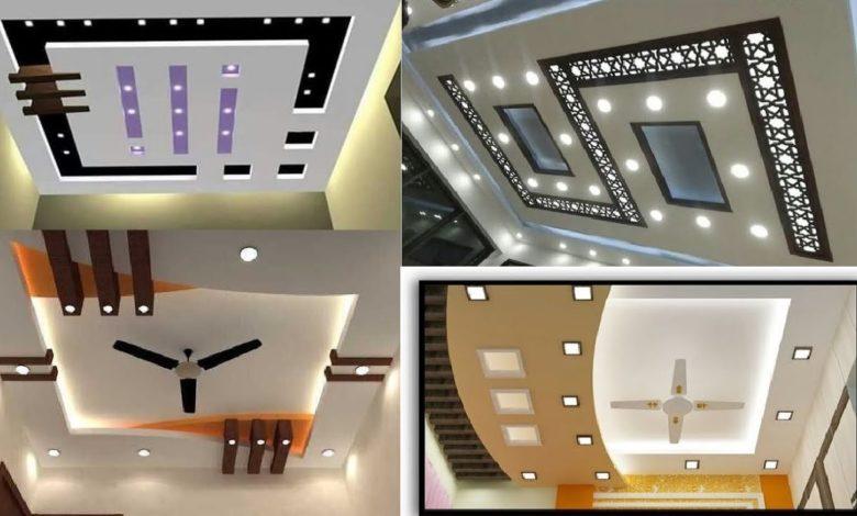 Top 200 Modern and Beautiful False Gypsum Ceiling Design Ideas of 2020
