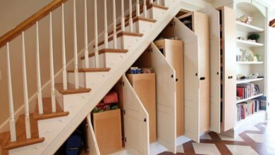 Photo of Top 60 Modern Building Shelves Under The Staircase Designs
