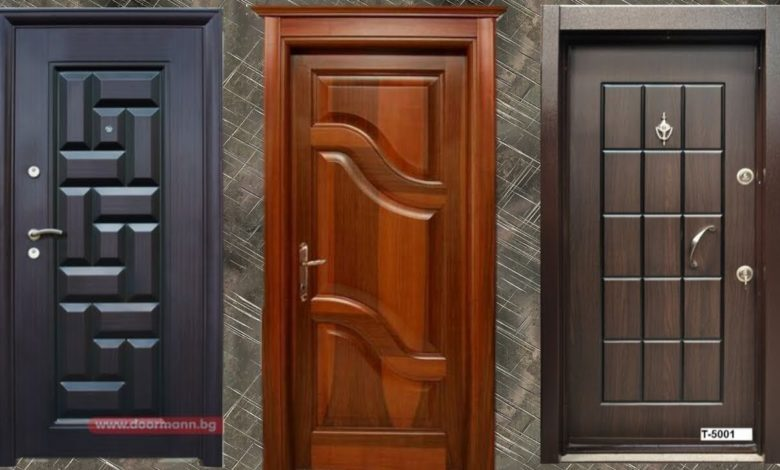 Top Modern and Beautiful Wooden Door Designs