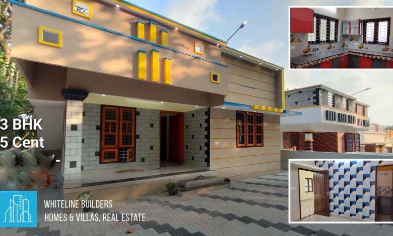 1000 Sq Ft 3BHK Single Floor Low Budget House at 5 Cent Plot