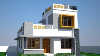 Photo of 1102 Sq Ft 3 Bedroom Two Floor Modern House and Plan, Cost 17.50 Lacks