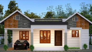Photo of 1150 Square Feet 3 Bedroom Traditional Style Single Floor House and Plan