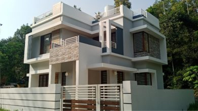 Photo of 1168 Sq Ft 3BHK Modern Contemporary Style Two Floor House at 3 Cent Land