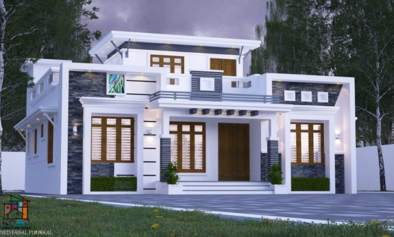 1170 Square Feet 3 Bedroom Modern and Beautiful House and Plan, Cost 16 Lacks