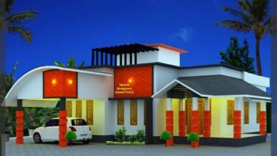 Photo of 1200 Sq Ft 2 Bedroom Single Floor Contemporary Style House and Plan, 17 Lacks