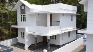 Photo of 1350 Sq Ft 3BHK Double Floor Beautiful House at 4.5 Cent Plot