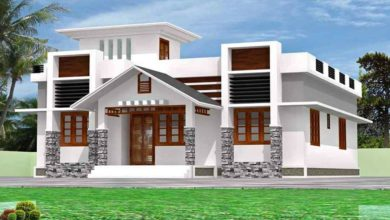 Photo of 1450 Square Feet 3 Bedroom Beautiful Single Floor House and Plan