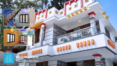 Photo of 1450 Square Feet 3BHK Modern Two Floor House at 3.5 Cent Land