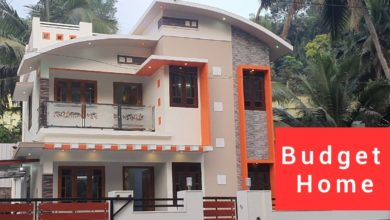 Photo of 1500 Sq Ft 3BHK Contemporary Style House at 4 Cent Land, 25 Lacks