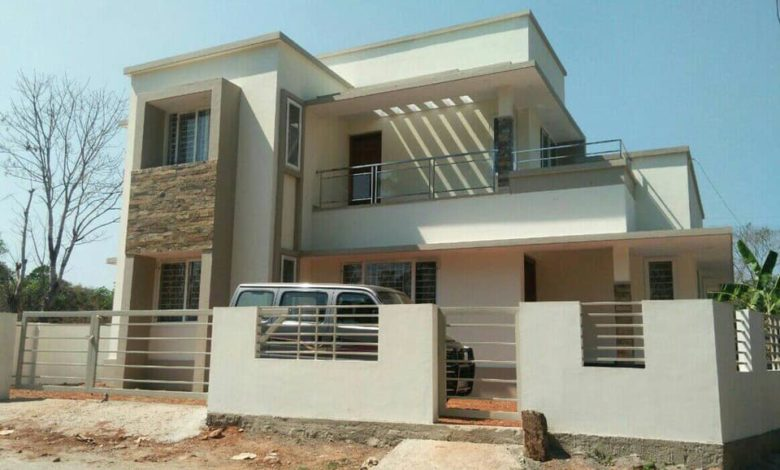 1544 Square Feet 4BHK Low Budget Two Storey House and Plan, Cost 20 Lacks