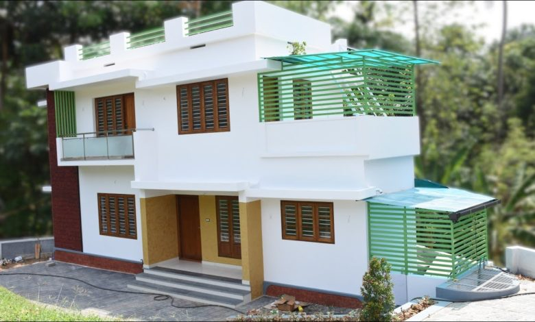 1600 Square Feet 3 Bedroom Double Floor Modern House at 3.75 Cent Plot