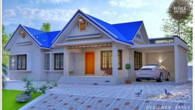 Photo of 1643 Sq Ft 3 Bedroom Traditional Style Single Floor House and Plan