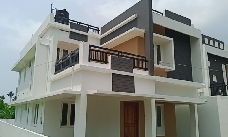 1730 Sq Ft 3BHK Modern Beautiful Two Floor House at 4.75 Cent Land