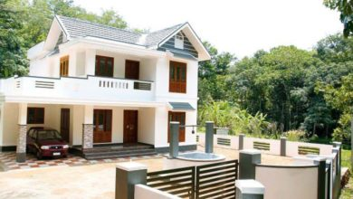Photo of 1815 Square Feet 4BHK Colonial Style Beautiful House and Plan