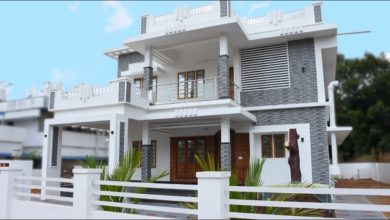Photo of 2130 Sq Ft 4BHK Double Floor Modern House at 10.6 Cent Land