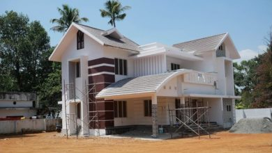 Photo of 2235 Sq Ft 4BHK Contemporary Style Modern Beautiful House at 8.5 Cent Land