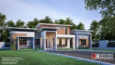 Photo of 2500 Sq Ft 4BHK Flat Roof Contemporary Style Modern House Design