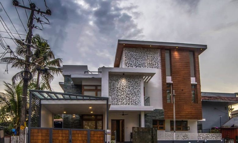 2500 Square Feet 4 Bedroom Modern Two Floor Home and Plan ...